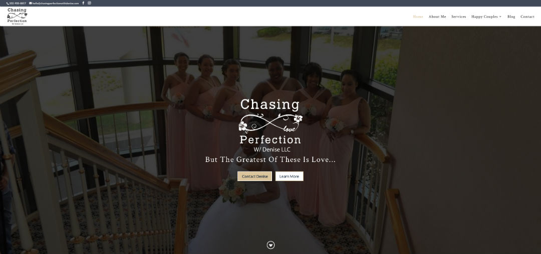 chasing perfection website2
