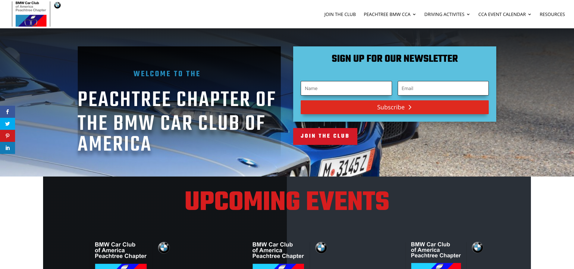 Welcome to the Peachtree Chapter - BMW Car Club of America